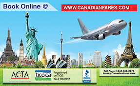canadian fares